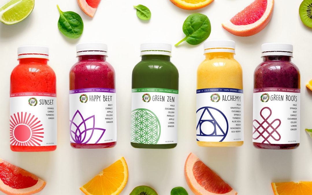 Zen Bar Juice Labels