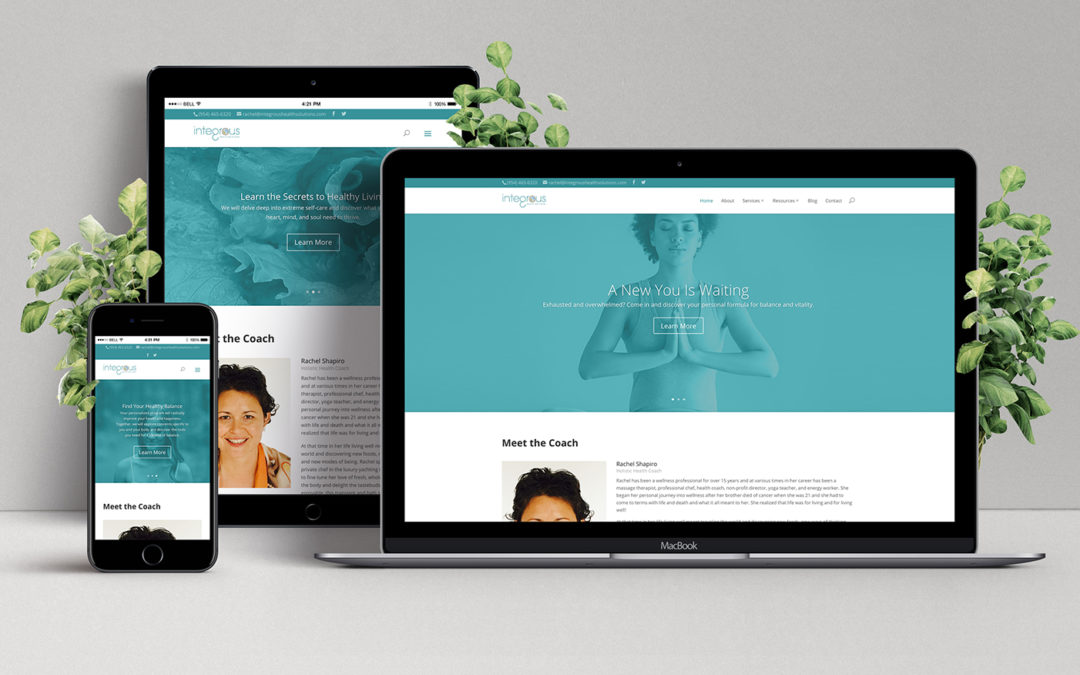 Integrous Health Solutions Website