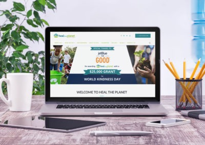 Heal the Planet Website Redesign